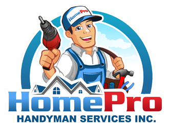 HomePro Handyman Services Inc.  logo design