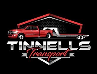 Tinnells Transport logo design