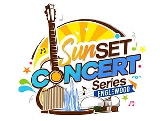 SunSET Concert Series logo design