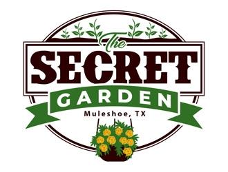 The Secret Garden logo design