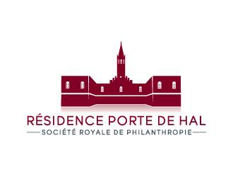 Résidence Porte de Hal logo design