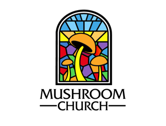 The Mushroom Church logo design