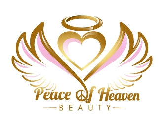 Peace of Heaven Beauty Logo Design