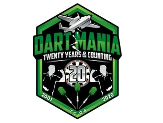 DartMania logo design