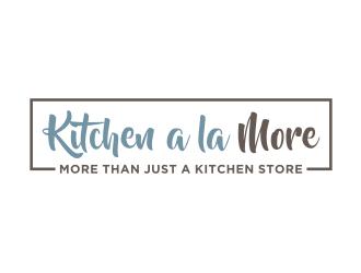 Kitchen a la More logo design