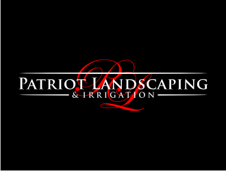 Patriot Landscaping logo design