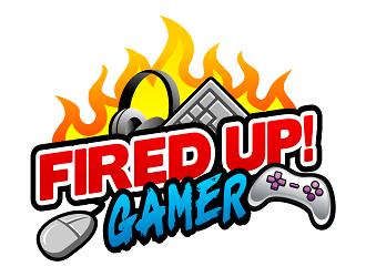 Fired Up! Gamer logo design