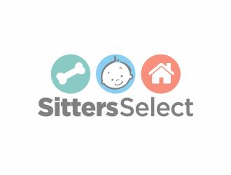 Sitters Select  logo design