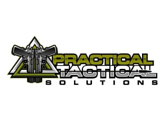 Practical Tactical Solutions  logo design