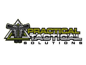 Practical Tactical Solutions  logo design