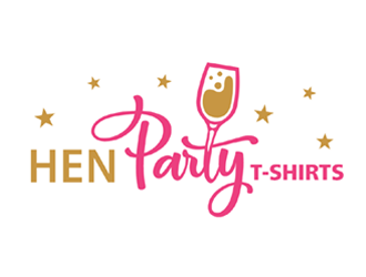Hen Party T-Shirts logo design