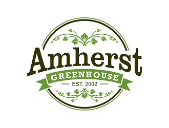 Amherst Greenhouse logo design