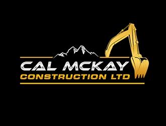 Cal Mckay Construction LTD logo design