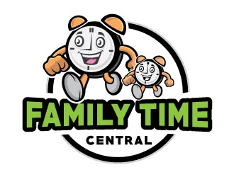 Family Time Central logo design