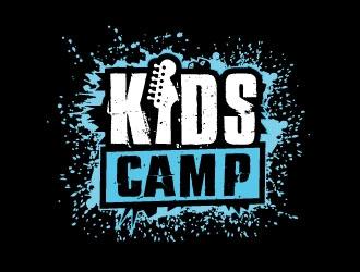 KidsCamp logo design