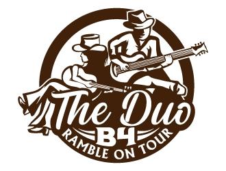 The Duo B4 logo design
