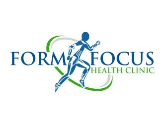 Form Focus Health Clinic logo design