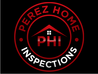 Perez home Inspections  logo design