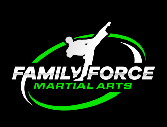 Family Force Martial Arts logo design