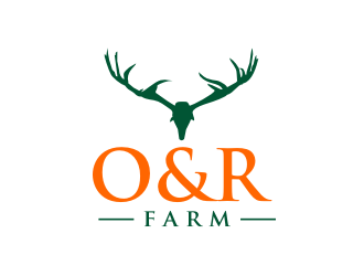 O&R Farm logo design