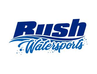 Rush Watersports logo design