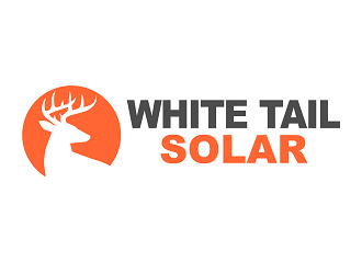 White Tail Solar Logo Design