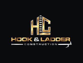 Hook & Ladder Construction logo design