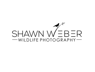 Shawn Weber Wildlife Photography logo design