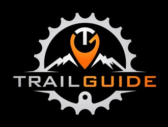 Trail Guide logo design