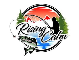 Rising calm logo design