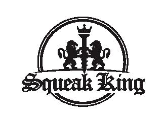 Squeak King logo design