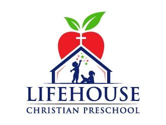 Lifehouse Christian Preschool  logo design