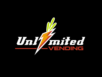 Unlimited Vending logo design