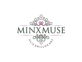 Minx Muse logo design