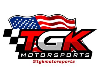 TGK Motorsports logo design