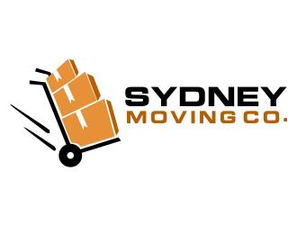 Sydney Moving Co logo design