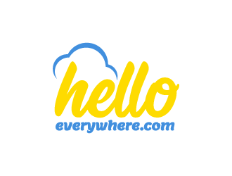 helloeverywhere.com logo design
