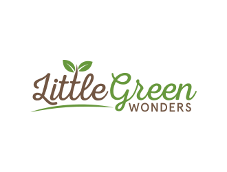 Little Green Wonders logo design