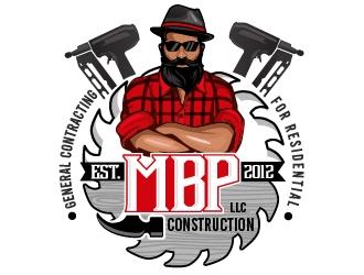 Mbp construction LLC  logo design