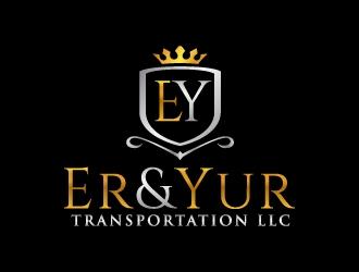Er&Yur Transportation LLC logo design