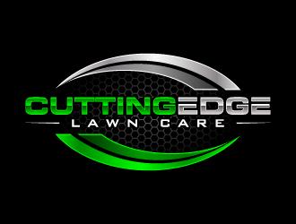 Cutting Edge Lawn Care logo design