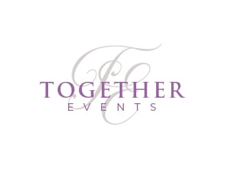 Together Events logo design