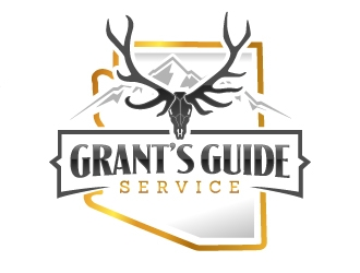 Grant's Guide Service logo design