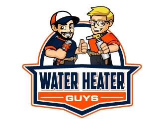 water heater guys logo design
