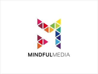 Mindful Media logo design