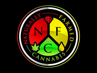 Naturally Farmed Cannabis logo design