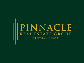 Pinnacle Real Estate Group Central Coast logo design