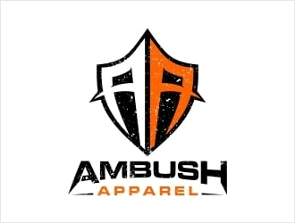 Ambush Apparel logo design