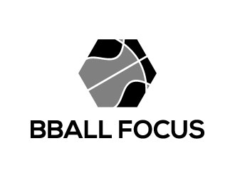 Bball Focus logo design by rbee