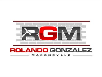 Rolando Gonzalez Masonry LLC  logo design